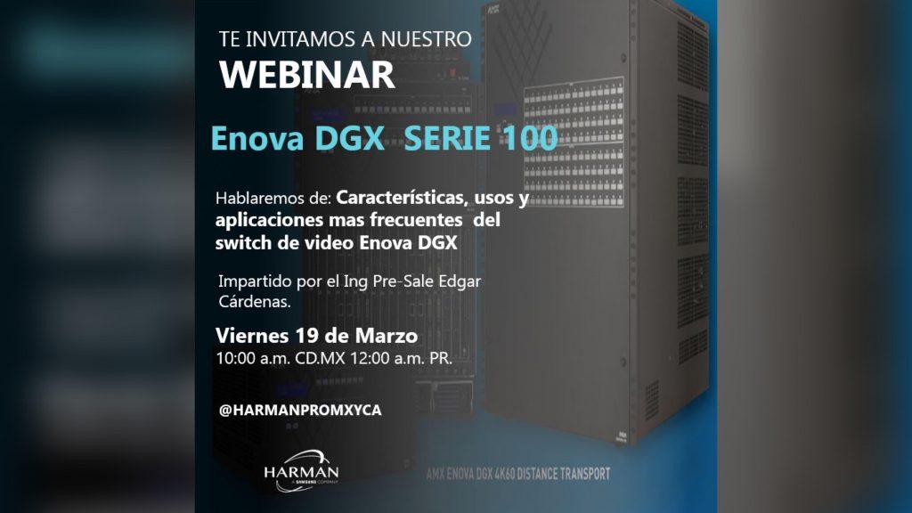 Webinar - Enova DGX serie 100