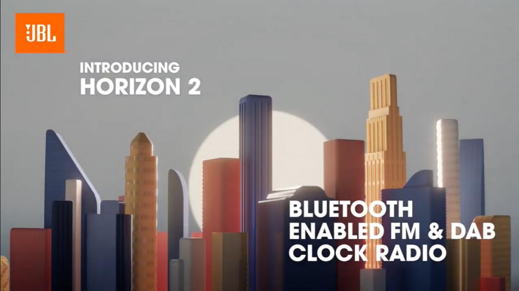 JBL clock radio bluetooth - Horizon 2