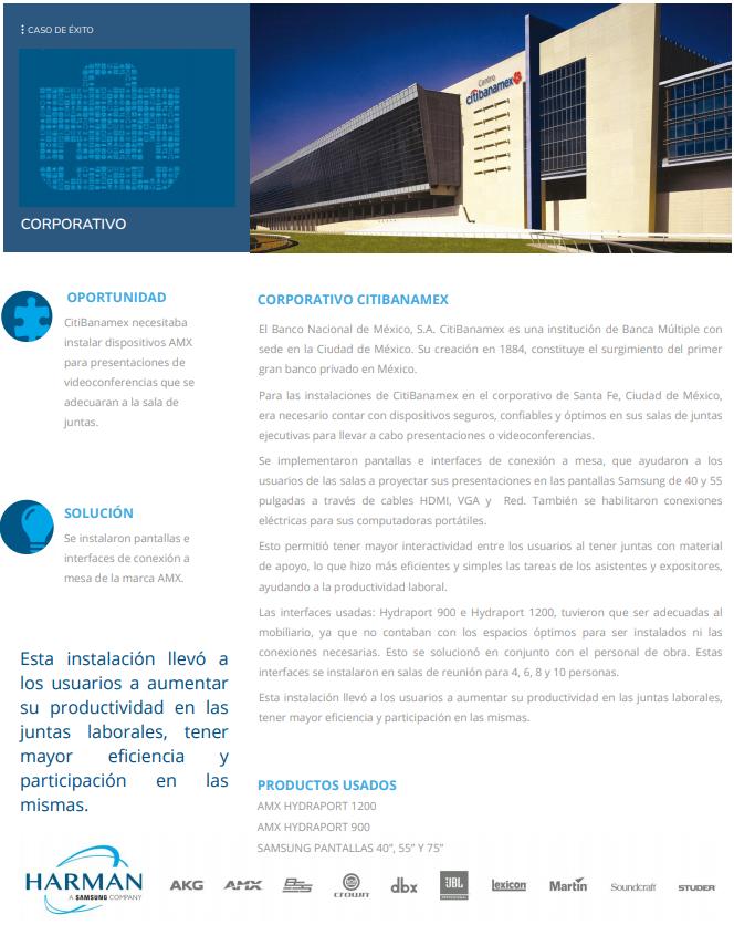 Corporativo Citibanamex - Portada